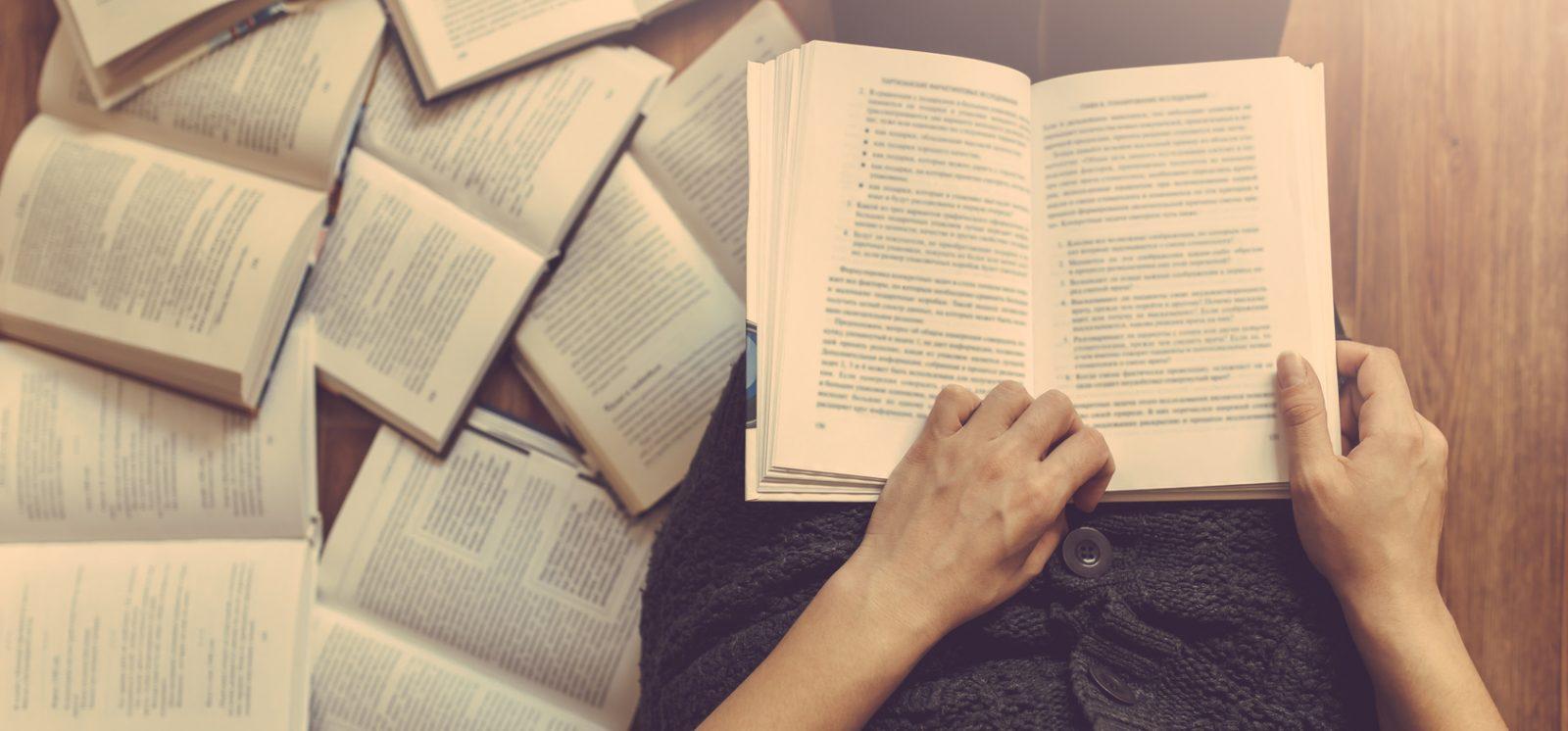 Przepędzanie czarnych myśli: książki